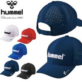 ヒュンメル hummel メンズ レディース ベーシックキャップ 軽量 吸汗速乾 キャップ 帽子 CAP ロゴ 熱中症対策 日射病予防 2020春夏新作 20%OFF HFA4084