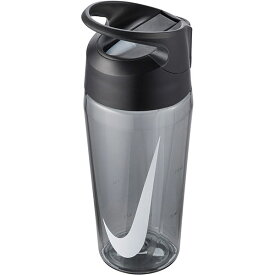 水筒 ナイキ NIKE TR ハイパーチャージ ストロー ボトル 16oz 容量473ml 0.4L 透明 直飲み ストロー付き クリアボトル ウォーターボトル スポーツボトル 水分補給 グレー 灰 HY4003 2020春夏新色