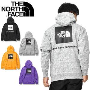 送料無料 裏起毛 スウェット パーカー THE NORTH FACE ノースフェイス Back Square Logo Hoodie バック スクエア ロゴ フーディー プルオーバー メンズ nt62040