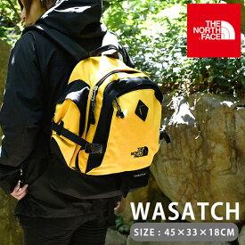 最もクラシックなデイパックをリ・デザイン WASATCH ワサッチ 送料無料 THE NORTH FACE ザ・ノースフェイス 35L メンズ レディース リュックサック バッグ かばん バックパック デイパック nm71860