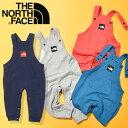 送料無料 ノースフェイス キッズ ベビー オーバーオール THE NORTH FACE Sweat Logo Overall スウェットロゴオーバー…