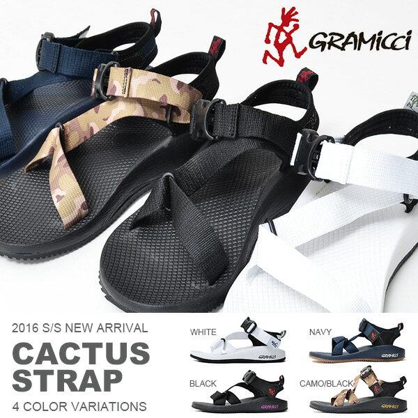 現品限り 得割32 サンダル グラミチ GRAMICCI メンズ レディース カクタス ストラップ CACTUS STRAP アウトドアサンダル ストラップサンダル バックル付き シューズ 靴 アウトドア カジュアル レジャー フェス GR00015014