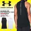 数量限定 タンクトップ アンダーアーマー UNDER ARMOUR UA BASELINE PERFORMANCE TANK メンズ ヒートギア バスケットボー...