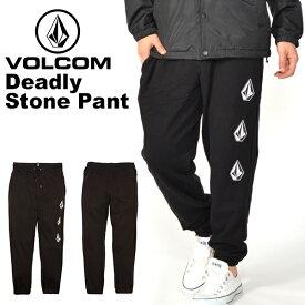 送料無料 スウェットパンツ VOLCOM ボルコム メンズ Deadly Stone Pant ロングパンツ スエットパンツ パンツ フリース スウェット スエット アウトドア スノーボード スキー スケートボード A1231802 日本正規品 得割20