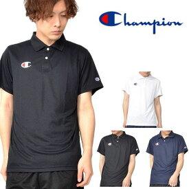 半袖 ポロシャツ チャンピオン Champion メンズ POLO SHIRTS ワンポイント ロゴ スポーツウェア トレーニング テニス ゴルフ ウェア スポーツカジュアル 2019新作 得割22 C3-PS391