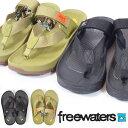 送料無料 Freewaters フリーウォータース TRIFECTA メンズ サンダル ストラップサンダル サーフ ビーチ 海 海水浴 プ…