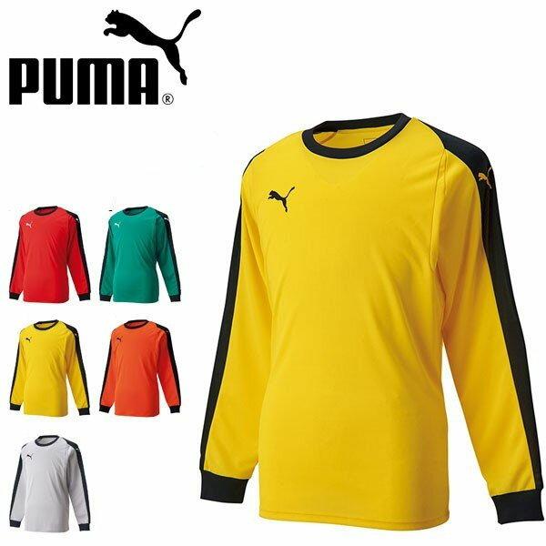 キッズ 長袖 ゴールキーパーシャツ プーマ PUMA LIGA ジュニア GK シャツ パッド付き 子供 キーパーシャツ GKシャツ ゴールキーパー シャツ サッカー フットサル フットボール 729966 得割23