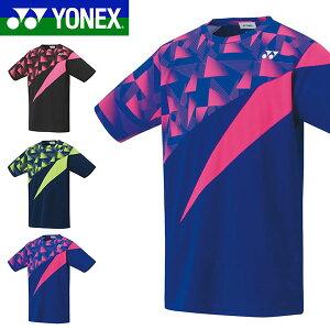 送料無料 ヨネックス YONEX 半袖 Tシャツ メンズ レディース ゲームシャツ ベリークール ドライTシャツ スポーツウェア プラクティスシャツ TEE UVカット 吸汗速乾 バドミントン テニス ウェア