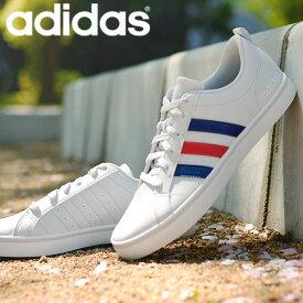 アディダス スニーカー メンズ adidas ADIPACE VS アディペース ローカット 3本ライン カジュアル シューズ 靴 ホワイト ブラック グレー 白 黒 27%off B74494 EH0019