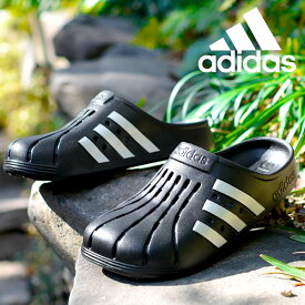 アディダス サンダル adidas メンズ レディース ADILETTE CLOG U クロッグサンダル シューズ 靴 3本ライン 2021春新作 FY8969 FY8970 FY6045