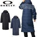 送料無料 ベンチコート OAKLEY オークリー メンズ ENHANCE LONG COAT 10.7 ランニング トレーニング サッカー 防寒 ア…