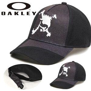 得割32 ゴルフ キャップ OAKLEY オークリー メンズ SKULL HYBRID CAP 14.0 FW 髑髏 スカル ロゴ 帽子 GOLF ゴルフ ウェア コンペ 景品 FOS900438