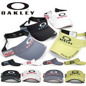 得割31 ゴルフ サンバイザー OAKLEY オークリー メンズ BG VISOR 14.0 FW ロゴ キャップ 帽子 GOLF ゴルフ ウェア コンペ 景品 FOS900442 2020秋冬新作