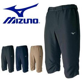 6分丈パンツ ミズノ MIZUNO メンズ トレーニングクロスパンツ 短パン ランニング ジョギング トレーニング ウェア スポーツウェア
