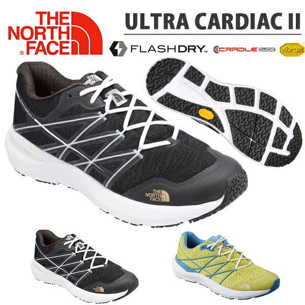 送料無料 トレイル シューズ THE NORTH FACE ザ・ノースフェイス Ultra Cardiac II ウルトラ カーディアック メンズ Vibram Sole アウトドア 靴