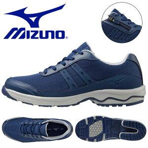 送料無料 ウォーキングシューズ ミズノ レディース MIZUNO LD AROUND 2 3E ファスナー付き スニーカー 靴 ビジネス カジュアル ウォーキング シューズ 3E B1GD2127 得割22