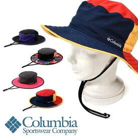 アウトドアハット パッカブル Columbia コロンビア メンズ レディース Bomber Crest Peak Packable Hat 撥水 ロゴ 帽子 アウトドア 登山 トレッキング ハイキング フェス キャンプ PU5043 2020春夏新作 25%off 【あす楽対応】