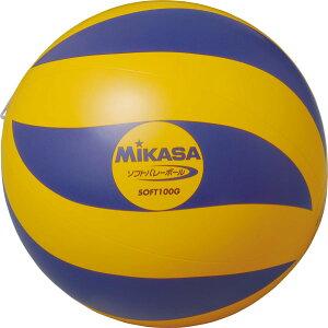 ミカサ ソフトバレーボール(小学生用) MJG-SOFT100G ○