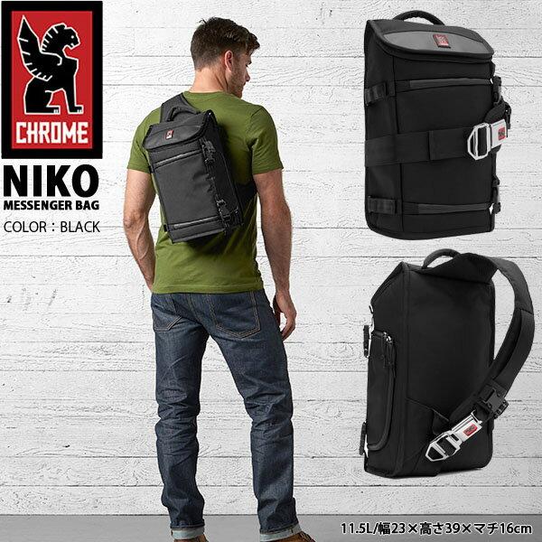 送料無料 メッセンジャーバッグ クローム CHROME NIKO ニコ シートベルト ショルダー バッグ カメラバッグ ボディバッグ 自転車 CAMERA BAG カメラケース 約11.5L