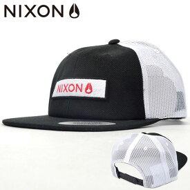 メッシュキャップ NIXON ニクソン メンズ GOLETA TRUCKER HAT SNAPBACK 帽子 CAP ロゴ スケボー BBキャップ スナップバック 2019秋冬新作 10%off