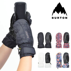 送料無料 スノーグローブ BURTON バートン レディース Women's Profile Under Mitt Glove ミトン 手袋 スマホ対応 スマートフォン対応 タッチパネル スノーボード スノボ スキー 防寒 25%off
