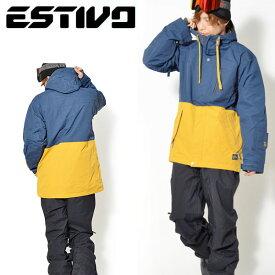 【すぐ使える100円OFFクーポン配布中】 半額!! 送料無料 スノーボードウェア エスティボ ESTIVO EV DEEP WOODS JKT メンズ ジャケット スノボ スノーボード スノーボードウエア SNOWBOARD WEAR スキー 50%off