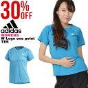 半袖 Tシャツ アディダス adidas W 定番ロゴワンポイント半袖Tシャツ レディース スポーツウェア ランニング ジョギン…