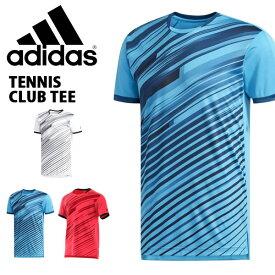 半袖 Tシャツ アディダス adidas メンズ TENNIS CLUB TEE テニスウェア スポーツウェア テニス ウェア 部活 クラブ 練習 合宿 2019春新作 得割20 FTP03【あす楽対応】