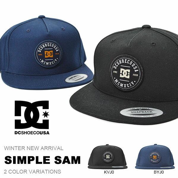 キャップ DC Shoes ディーシー シューズ メンズ SIMPLE SAM キャップ 帽子 CAP キャップ スノーボード スノボ スキー ディーシー シュー 2017冬新作 25%off