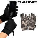 ゆうパケット対応可能! グローブライナー DAKINE ダカイン メンズ STORM LINER 手袋 インナー 防寒 スノーボード ス…