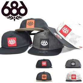 ef3dee58b9d0e キャップ 686 SIX EIGHT SIX シックスエイトシックス Waterproof Knockout Snapback Hat 撥水  ウォータープルーフ
