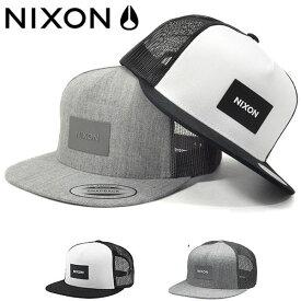 メッシュキャップ NIXON ニクソン メンズ TEAM TRUCKER HAT SNAPBACK 帽子 CAP ロゴ スケボー BBキャップ スナップバック 2019秋冬新作 10%off