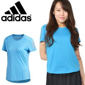 33%off ランニング 半袖 Tシャツ アディダス adidas レディース RESPONSE T シャツW ランニングシャツ スポーツウェア ジョギング マラソン トレーニング ウェア 3本ライン 2020春新色 FRQ07