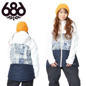 送料無料 スノーボードウェア 686 SIX EIGHT SIX シックスエイトシックス Athena Insulated Jacket レディース ジャケット スノボ スノーボード スノーウェア 得割30