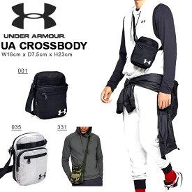 ショルダーバッグ アンダーアーマー UNDER ARMOUR UA Crossbody メンズ ボディバッグ 斜め掛け ショルダーバッグ スポーツバッグ かばん バッグ 1327794 2019秋冬新色