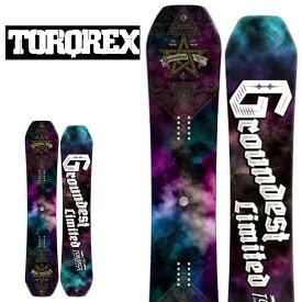 送料無料 TORQREX トルクレックス ボード GROUND HIGHPOPPER グラウンドハイポッパー 板 スノーボード メンズ 紳士スノーボード ダブルキャンバー 150.5 25%off
