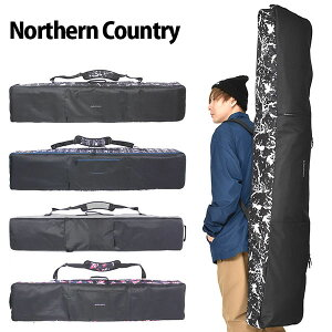 送料無料 スノーボード ケース 3WAY スノボ バッグ Northern Country ノーザンカントリー ボードバッグ 全面パッド入り 160cm 148cm 得割31 【あす楽対応】