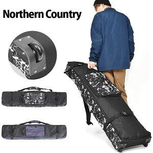 送料無料 キャスター付き スノーボード ケース 4WAY スノボ バッグ Northern Country ノーザンカントリー ボードバッグ 全面パッド入り 160cm 得割30 【あす楽対応】