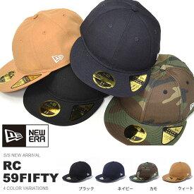 NEW ERA ニューエラ メンズ レディース RC 59FIFTY ベーシック キャップ 帽子 CAP 2019春新作 30%off