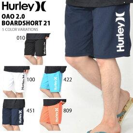 サーフパンツ HURLEY ハーレー メンズ 水着 OAO 2.0 BOARDSHORT 21 ロゴ ボードショーツ 海水パンツ 海パン トランクス サーフ サーフィン ボディボード プール 海水浴 野外フェス MBSOAOSS 2019春夏新作 25%off
