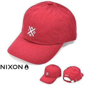 送料無料 キャップ NIXON ニクソン 帽子 PREP STRAP BACK CAP メンズ スケート ストリート ぼうし キャップ スナップバック アジャスタブル 2019春新作 25%off