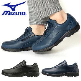 送料無料 ウォーキングシューズ ミズノ MIZUNO メンズ LD40 Va 幅広 3E GORE-TEX ゴアテックス 防水 ビジネスシューズ スニーカー 靴 通勤 カジュアル ウォーキング シューズ 得割27