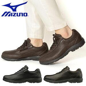 送料無料 ウォーキングシューズ ミズノ MIZUNO メンズ LD40 Va SW 幅広 4E GORE-TEX ゴアテックス 防水 ビジネスシューズ スニーカー 靴 通勤 カジュアル ウォーキング シューズ 得割27