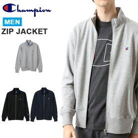 チャンピオン Champion メンズ ZIP JACKET ジップスウェットジャケット スエット ジャケット フルジップ ワンポイント ロゴ 得割20 C3-PS011