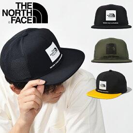 送料無料 ノースフェイス ストレッチ スクエアロゴ メッシュ キャップ THE NORTH FACE Tech Logo Cap テック ロゴキャップ メンズ レディース 帽子 nn02078 2021春夏新色