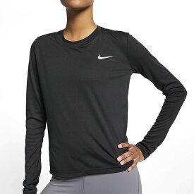 【すぐ使える100円割引クーポン配布中!】 長袖 Tシャツ ナイキ NIKE レディース ウィメンズ マイラー L/S トップ ワンポイント ランニングシャツ トレーニングシャツ スポーツウェア ランニング ジョギング AJ8129 23%off