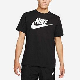ナイキ 半袖 Tシャツ メンズ NIKE フューチュラ アイコン S/S Tシャツ スポーツウェア ロゴ ビッグロゴ カジュアル スポカジ ブラック 黒 ホワイト 白 AR5005 20%OFF