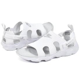 送料無料 スポーツサンダル ナイキ NIKE メンズ レディース OWAYSIS オアシス サンダル ストラップ ビーチサンダル ビーサン スポサン シューズ 靴 ホワイト 白 CT5545 2020夏新作 10%OFF