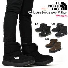 30%off 送料無料 ウール ヌプシ ショート ブーツ ザ・ノースフェイス THE NORTH FACE W NUPTSE BOOTIE WOOL V SHORT ウィメンズ ヌプシ ブーティ ウール 5 ショート レディース スノトレ アウトドア スノー シューズ 靴 nfw51979