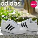 送料無料 アディダス スニーカー レディース adidas GRANDCOURT K グランドコート 学校 通学 シューズ 靴 3本ライン E…